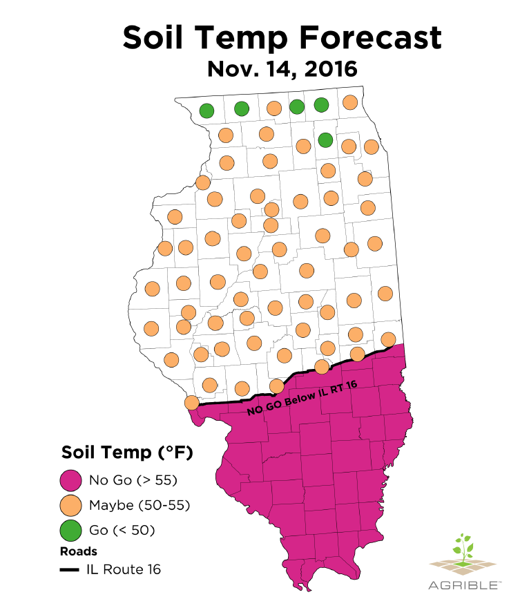 Crop tech consulting boots in the field report for for Soil temperature